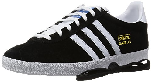 adidas Gazelle OG Herren Sneakers Schwarz (Black 1/White/Metallic Gold)
