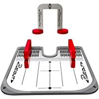 PuttOut Golf Putting Mirror Trainer and Alignment Gate