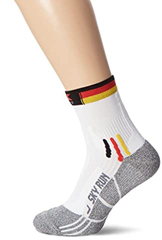 X-Socks Erwachsene Funktionssocken Sky Run Patriot, Germany, 45/47, X020458