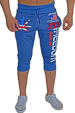 bermuda shorts f r den sommer leichte baumwollhose mit taschen kurze jogginghose f r herren. Black Bedroom Furniture Sets. Home Design Ideas