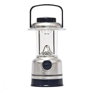Lampe de camping 15 LED - Lanterne ultra éclairante pour la pêche, la chasse, la maison ou le jardin avec interrupteur de réglage et boussole Par Kurtzy TM par Kurtzy