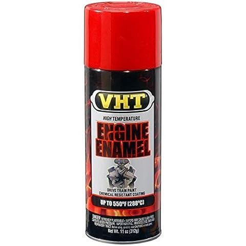 Peinture Vernis Spray VHT Rouge x moteur cylindres Carter hautes températures