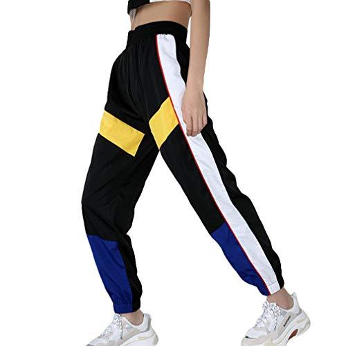 Mujer Hip Hop Pantalones Chándal Cintura Elástica