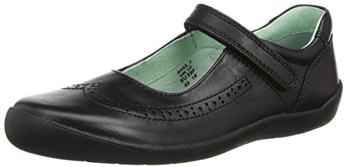 Start-rite Girls' Lizzy Mary Janes, Black (Black_7), 3.5 UK 36 EU