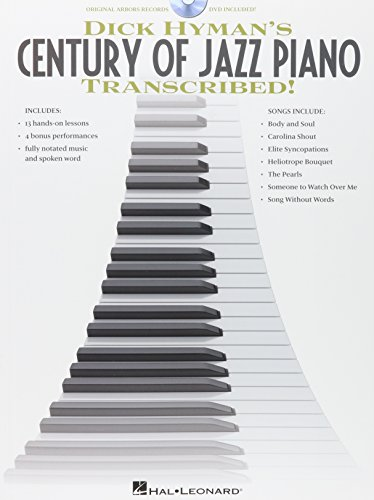 Preisvergleich Produktbild Dick Hyman's Century Of Jazz Piano Transcribed!. Für Klavier [DVD]