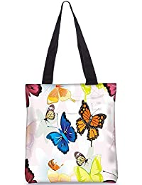 Snoogg Tote Bag 13.5 X 15 Inches Shopping Utility Tote Bag Made From Polyester Canvas - B01GCILDVS
