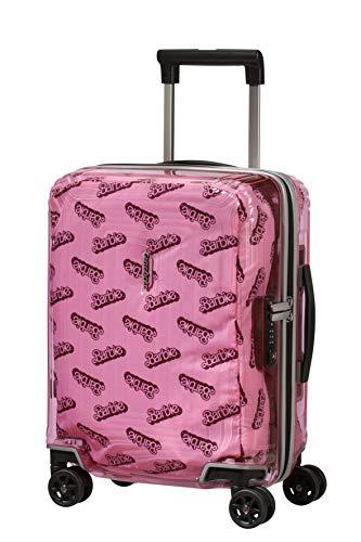 Samsonite Neopulse Barbie - Spinner XS Bagage Enfant, 45 cm, 26 L, Rose (Barbie Transparent Pink)