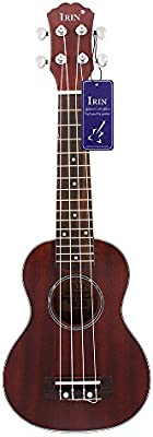 'Andoer® 21Ukelele Ukelele abeto Cuerpo Palisandro Diapasón 4cuerdas Cuerdas Instrumento