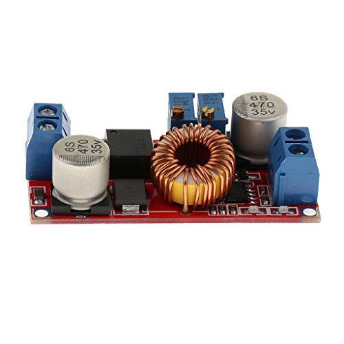 perfeclan Módulo de Fuente de Alimentación LED Drives 5A 5-32V to 0.8-30V Accesorio de Alimentación