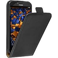 mumbi PREMIUM Leder Flip Case für Huawei Y625 Tasche