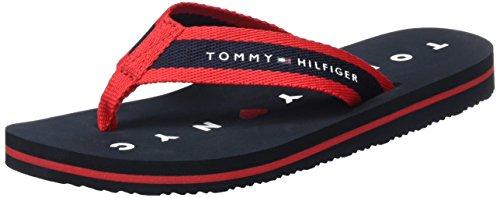 Tommy Hilfiger Damen M1285ellie 7d Zehentrenner Blau (Midnight 403)