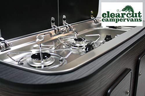 Smev 9222 Right-Hand Sink with Hob - Piezo Ignition - Micro-Switch Tap