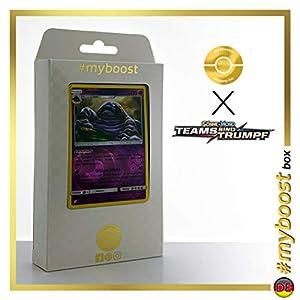 Sleimok (Muk) 63/181 Holo Reverse - #myboost X Sonne & Mond 9 Teams Sind Trumpf - Box de 10 Cartas Pokémon Alemán