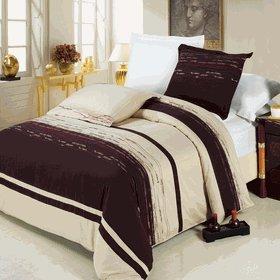 Royal Hotel 's voller Größe massiv Schokolade 600-thread-count 3duvet-cover-sets und 1sibirischen Gänsedaunen Alternative Tröster 100Prozent Baumwolle (Schokolade Tröster)