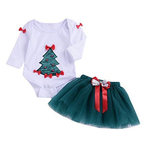 Bibao Baby Mädchen (0-24 Monate) Bekleidungsset weiß weiß 6-12 ()