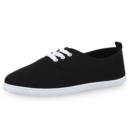 Sapatos Lazer De Das Sapatos Pretos Pano Senhoras Sapatilhas PqYUwHzBx