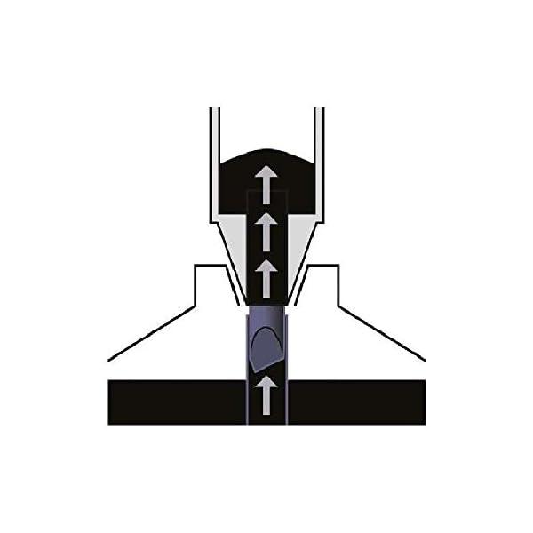 FABER-CASTELL Flipchart-Marker GRIP, Rundspitze, schwarz