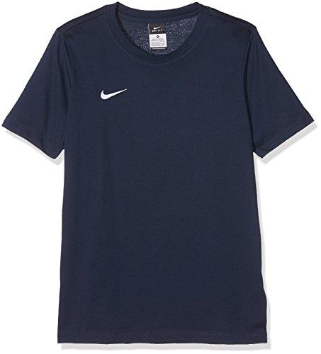 Nike Kinder T-Shirt Club Blend, Obsidian/Football White, S, 658494-451 (Kinder Obsidian Bekleidung)