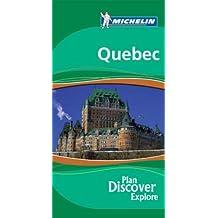 Michelin Quebec (Michelin Green Guide Quebecc) by Eric J. Fletcher (2007-01-02)