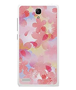 PrintVisa Designer Back Case Cover for Xiaomi Redmi Note :: Xiaomi Redmi Note 4G :: Xiaomi Redmi Note Prime (Painted Animated Design Flowers Nature)