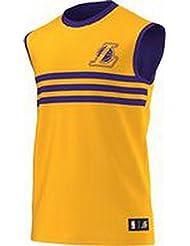 adidas Summer Run Reversible Débardeur de basketball Homme NBA
