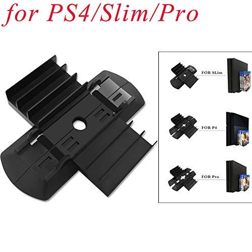 TianranRT Vertikal Ständer Dock Halterung Halterung Integriert Für PS4/Slim/Pro & Spiel Disc Speicher