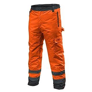 Profi Thermo Warnschutzhose EN 20471 Warnhose orange gelb Arbeitshose Warnschutz Sicherheitshose M orange