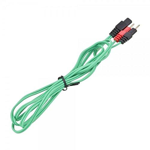 Compex EMS câbles pour électrodes, vert, CO2 601053