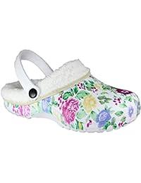 Zapatos para mujer Zuecos buyAzzo BA590572 Zuecos Sabots de Caucho Mujer