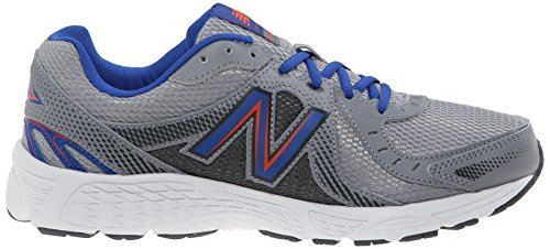 New Balance Men's M450V4 Running Shoe, Grey/Orange, 10 D US Grey / Orange