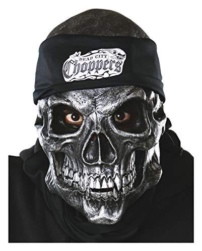 Road Rage Skull Maske -