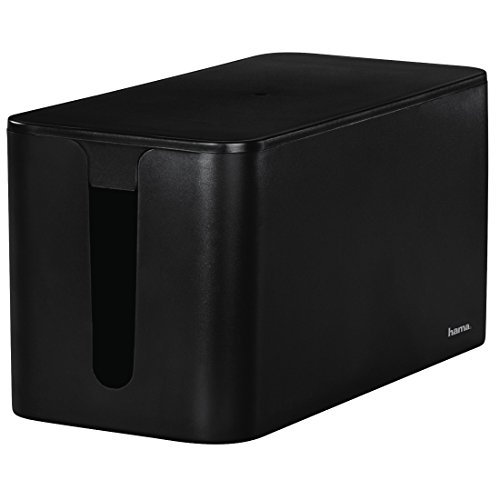 "HAMA Scatola portacavi ""CABLE BOX MINI"", nero"
