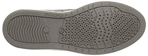 Geox Jr Creamy B, Sneakers Hautes Fille Beige (C5000)