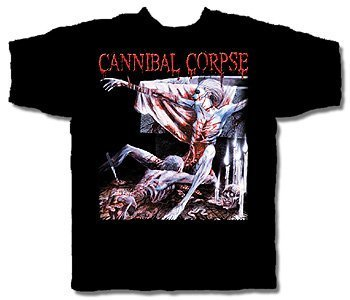Cannibal Corpse - Tomb Of The Mutilated Adulto T-Shirt, Size: Large, Color: Nero