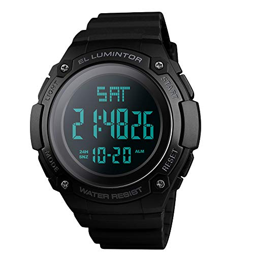 Relojes de Hombre,Reloj Deportivo Digital para Hombre, Deportivo y Militar, Reloj de Pulsera Militar...