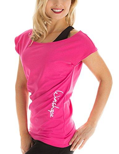 Winshape Damen Dance-Shirt WTR12 Freizeit Fitness Workout T-Shirt, rosa (Pink), S