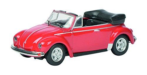 Schuco 452622500 - VW Käfer Cabrio Maßstab 1:87, rot