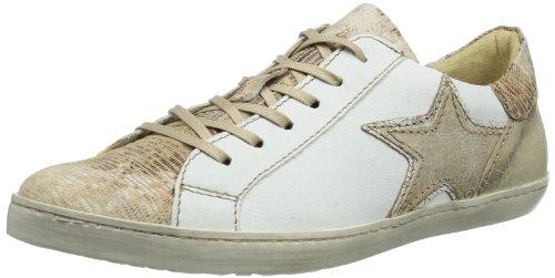 Mjus 217109, Sneaker donna Bianco (MIELE+BIANCO+BEIGE)
