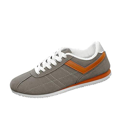 WWricotta Zapatillas de Correr Hombre Color de Hechizo Casual Cómodas Calzado Deportivo Zapatos Planos Informales Bambas de Running Deportivas Clasicas
