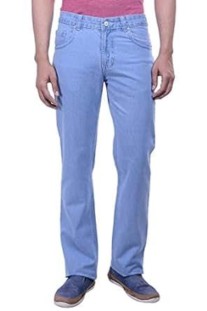 Hoffmen Men's Straight Fit Cotton Jeans