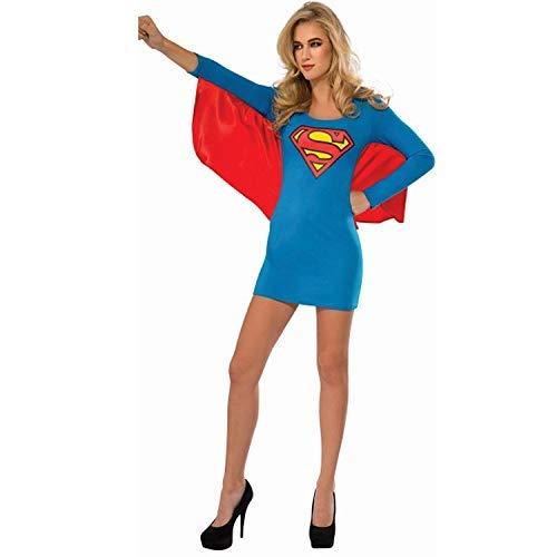 LVLUOYE Cosplay Sexy Halloween-Kostüm Superwoman Spiel Anime Sexy Uniform ()
