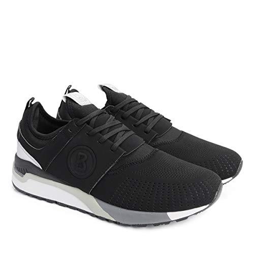 Bogner Herren Atlanta M1 Sneaker, Schwarz (Black 01), 44 EU
