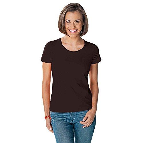hanes-tasty-womens-crew-neck-top-brown-m