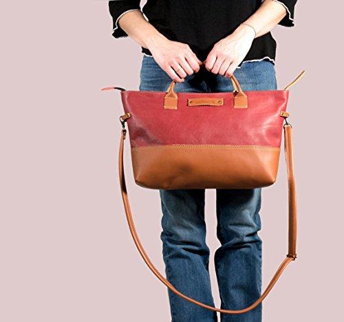 - 41EDs3zu 2BWL - Leather handbag, hand bag, leather handbag marsala, women leather handbag, medium leather handbag, handmade leather handbag