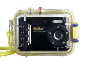 """Vivitar Vivicam 5050 Appareil photo numérique Ecran 2,4"""" 5 MP 16 Mo Caisson étanche Noir"""
