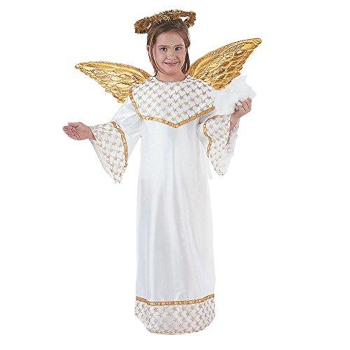 Limit Sport - Disfraz de angel dorado para niños (MI246)