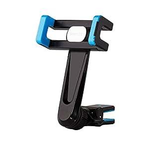 AVANTEK Porta Cellulare Supporto Auto Universale Air Vent Rotazione a 360° per la Maggior Parte di Smartphone e Navigatori (Blu)
