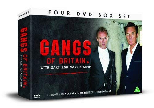 Gangs who Ran Britain with Gary and Martin Kemp [DVD] [UK Import]