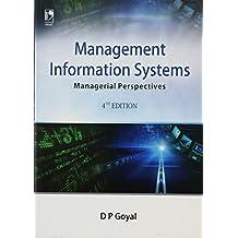 Management Information System Dp Goyal Pdf