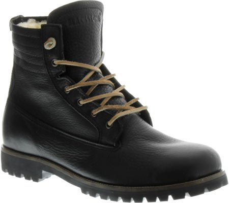 BLACKSTONE - Boots IM12 FUR - black Black